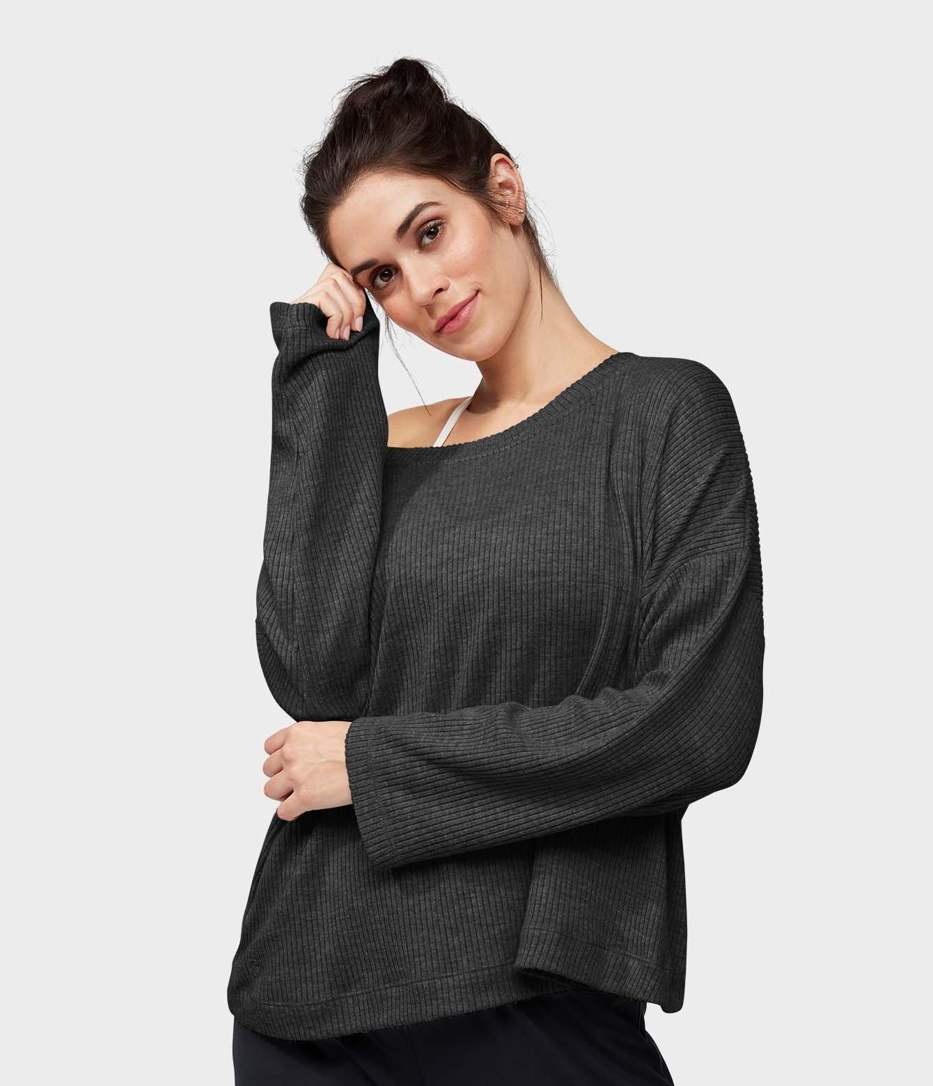 Boxy VNeck Pullover
