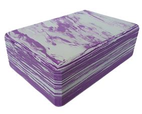 Block Foam Marbled Purple